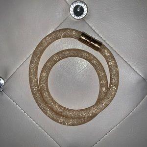 Swarovski Mesh Wrap Bracelet